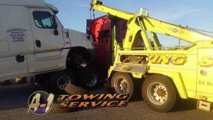 Heavy Duty Towing 3 Tractor Semi's