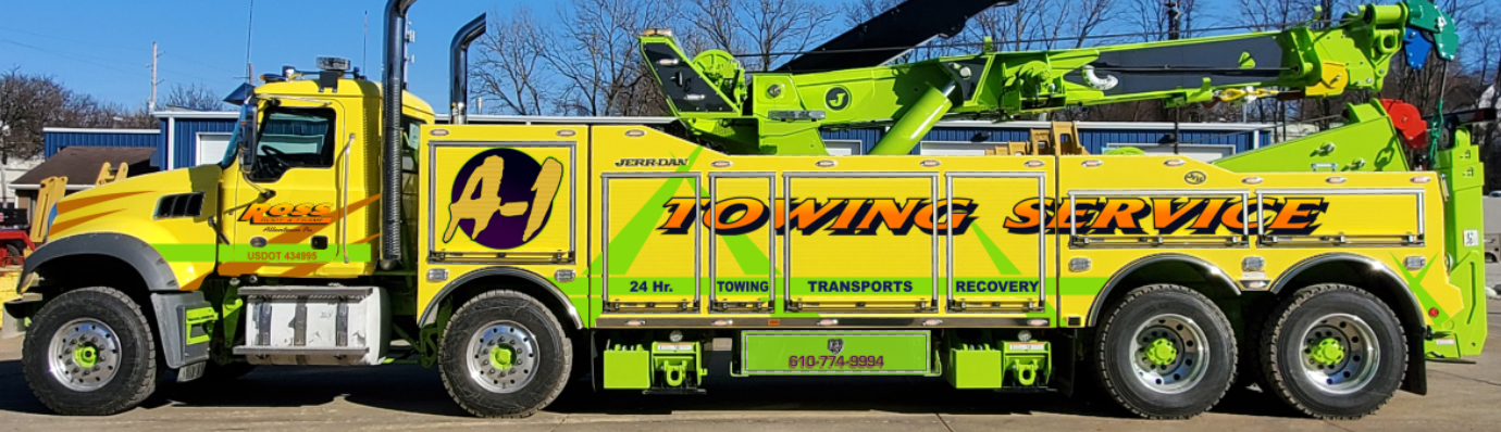 tow truck for semis
